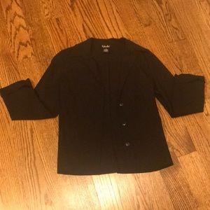 Women's black jacket size 8